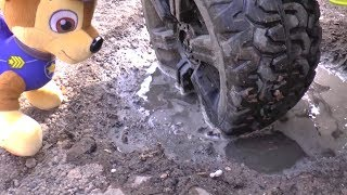 The wheel feel off on Jeep Funny Baby Paw Patrol Ride on POWER WHEEL by Funny Timur