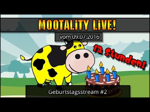 Moos Geburtstagsstream! #2 - 12 Stunden! :D  [ deutsch | gameplay ]