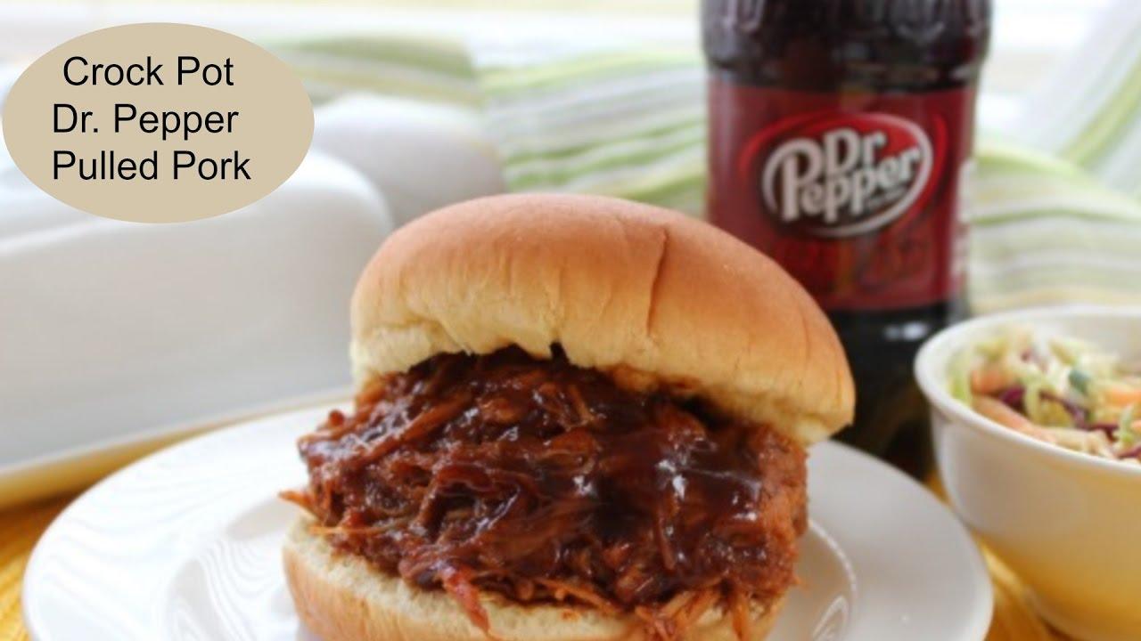 Crock Pot Dr Pepper Pulled Pork Bbq Youtube,Msg In Food Bad For You