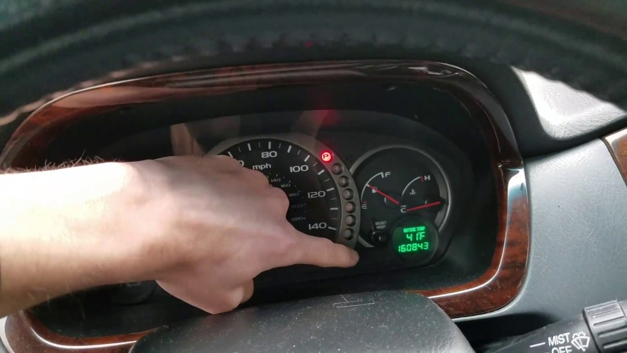 Honda Pilot How To Reset Maintenance Required Light - YouTube
