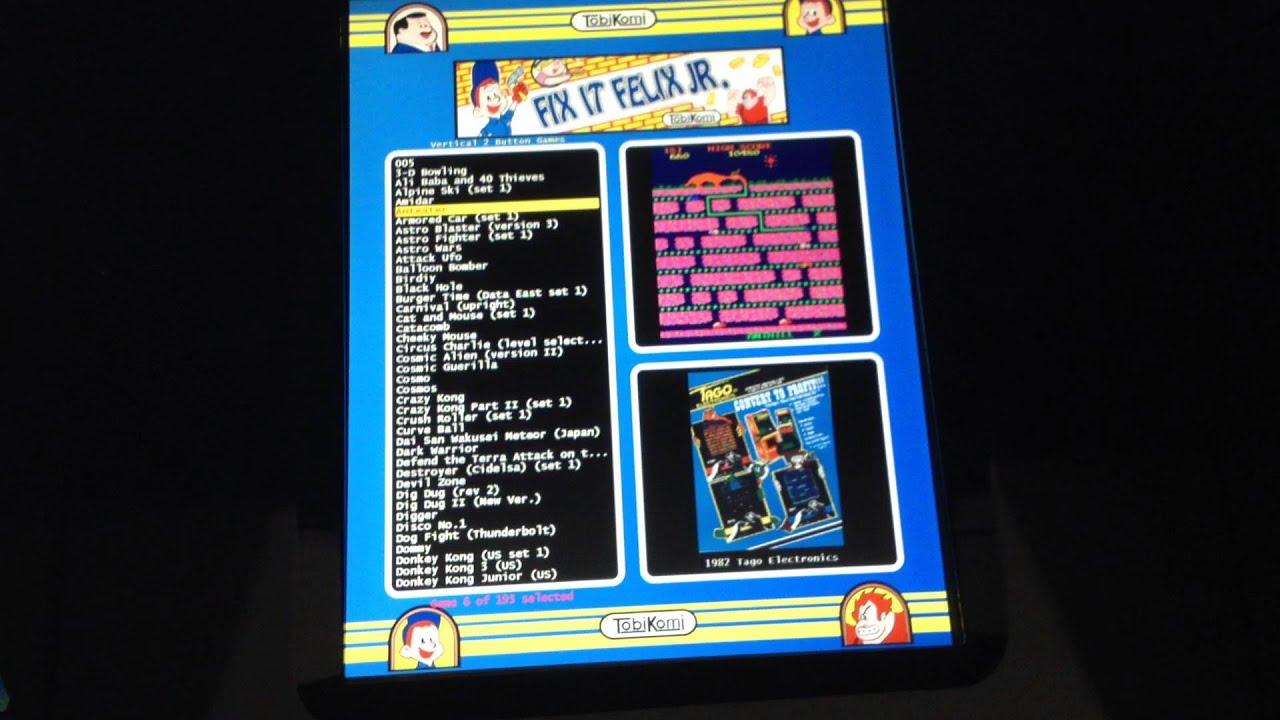 Fix It Felix Jr Arcade custom Arcade Machine - YouTube