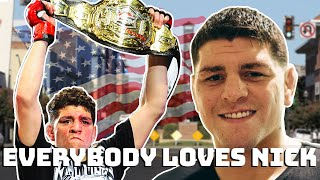 Everybody loves Nick Diaz