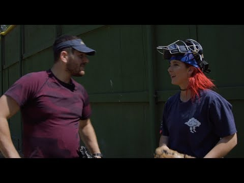 Thumbnail: Teaching My Boyfriend How To Pitch A Softball