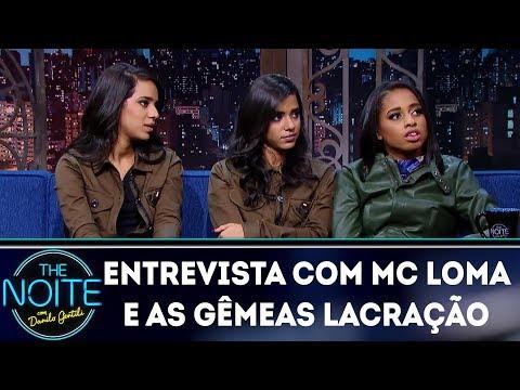 Entrevista com Mc Loma e as Gêmeas Lacração | The Noite (14/03/18)