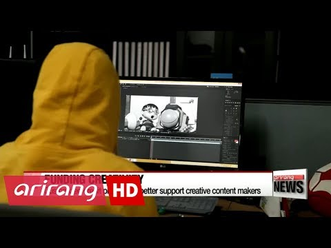 Customized credit program to better support creative content makers in Korea