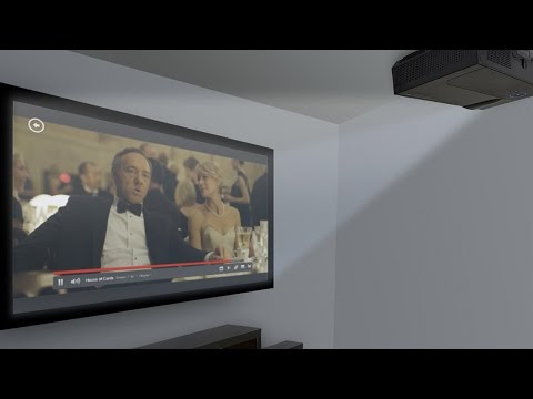 DIY Home Movie Theater:  LED Video Projector Screen ► The Deal Guy