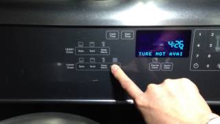 whirlpool wgi925c0bs feature not available