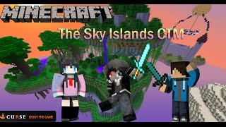 Minecraft Map The Sky Islands CTM Ft.KodomeTan IJ Froster Part 1 แอบดูเขาอาบน้ำ