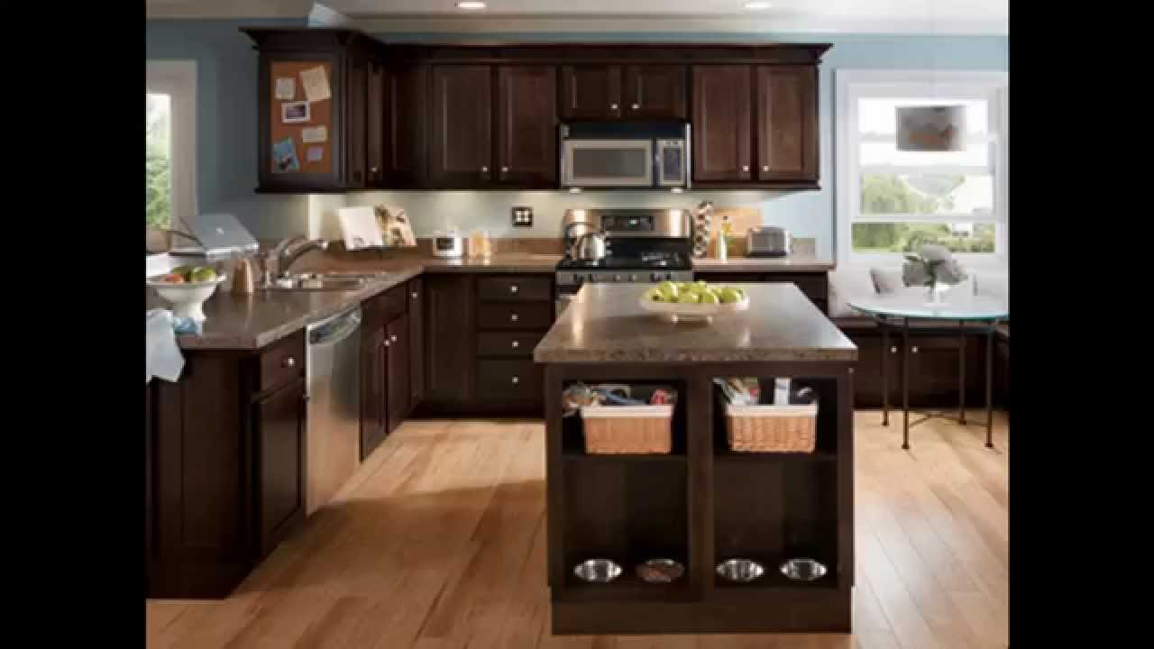 Espresso Kitchen Cabinets Youtube