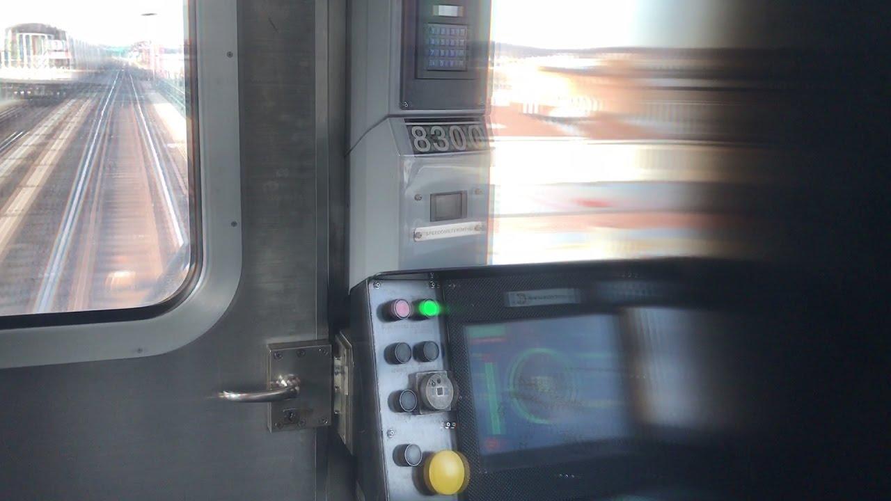 Nyc Subway Hd 60fps Kawasaki R143 L Train Cbtc Screen Ato