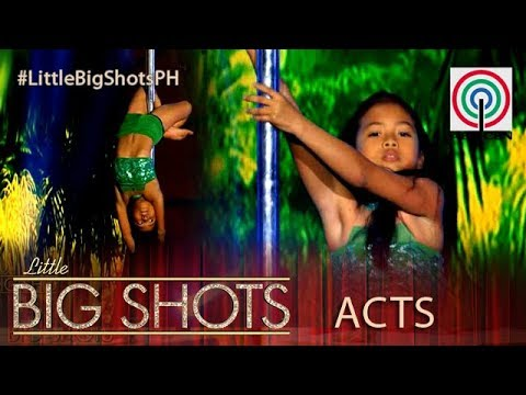 Little Big Shots Philippines: Allyza | 9-Year-Old Pole Dancer
