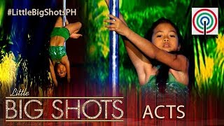 Little Big Shots Philippines: Allyza | 9-Year-Old Pole Dancer