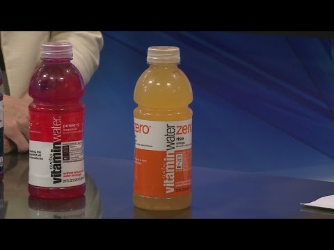 How healthy is vitamin water? 6-24-2105