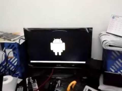 Firmware upgrade process for DroidTV M3