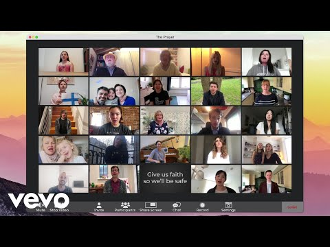 Andrea Bocelli ft. Céline Dion - The Prayer (29 апреля 2020)