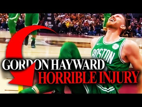 Gordon Hayward Injury - What It Means For The Boston Celtics?