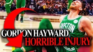Gordon Hayward Injury - What It Means For The Boston Celtics?