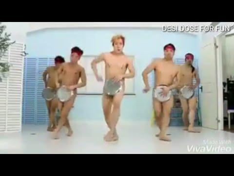 Talk. Quite Naked hip hop dancer