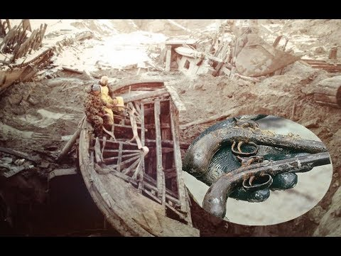The Treasure Discovered Inside This 150 Year Old Sunken Steamboat Is Incredible