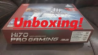 ASUS H170 PRO GAMING Motherboard Unboxing!
