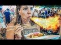 Сходили на тайский рынок еды. Вызывайте пожарных!