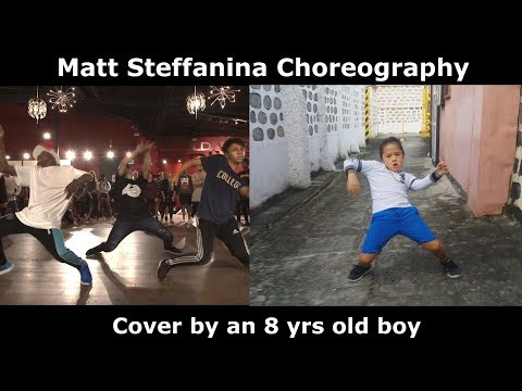 "8 yrs old BOY Cover ""IF I'M LUCKY"" - Jason Derulo / Matt Steffanina Choreography #IFIMLUCKY"