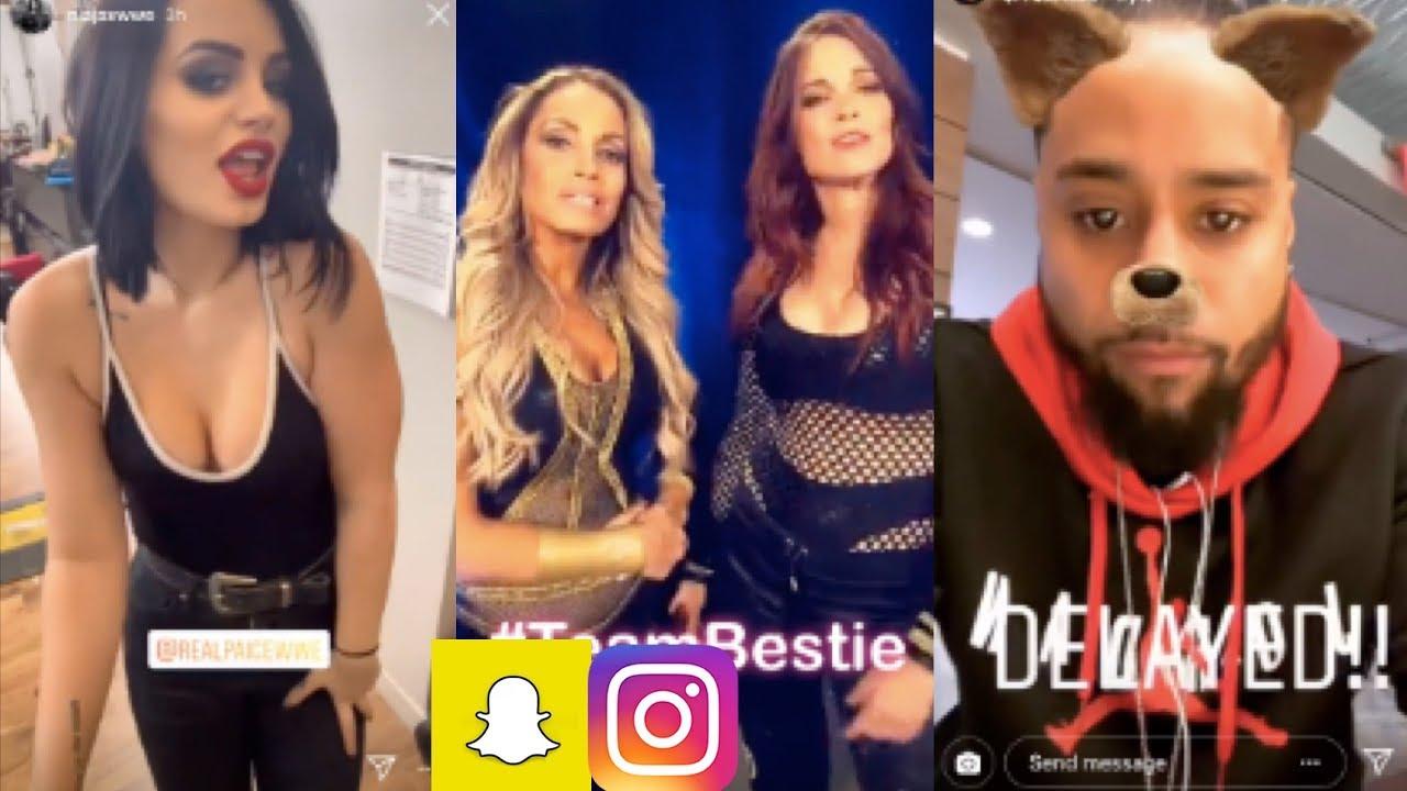 butt Snapchat Paige WWE ke naked photo 2017