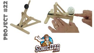 Binder Clip Catapult - Sonicdad Project #22