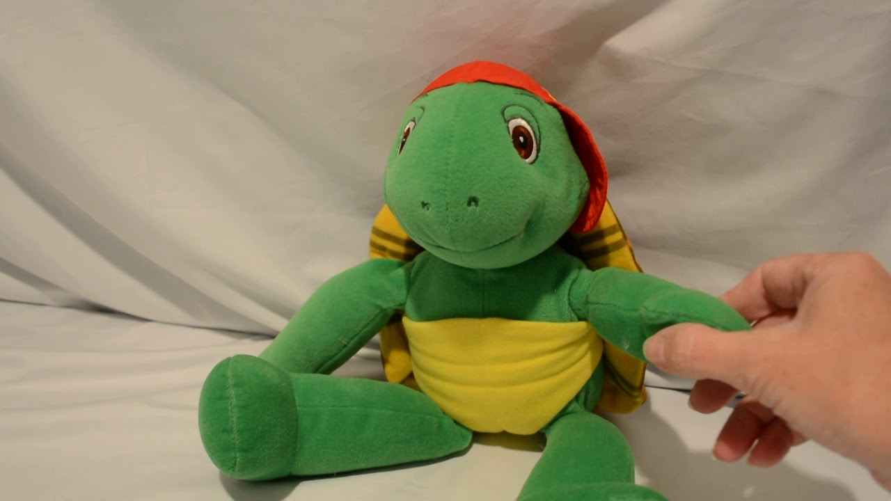 Franklin Turtle Kidpower YouTube Vtg - 80s Talking