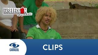 El Pibe y El Tino pelean en pleno partido - La Selección
