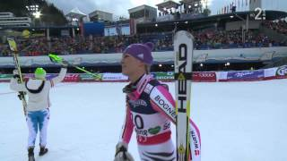 Video FIS ALPINE WM 2013 - Schladming - Tina MAZE - Second Place-Super Combined Ladies download MP3, 3GP, MP4, WEBM, AVI, FLV Agustus 2018