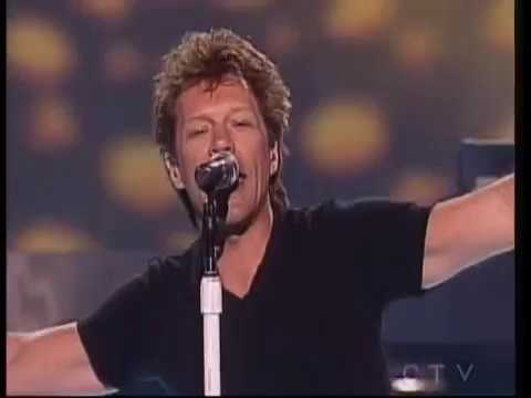 Bon Jovi - Lost Highway & It's My Life (Canadain Idol 2008)
