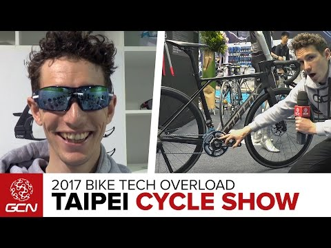 Bike Tech Overload | 2017 Taipei Cycle Show Day 2