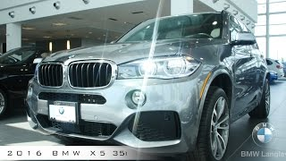 new 2016 bmw x5 35i review exterior and interior walkaround