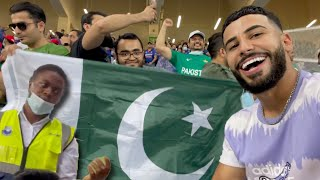 Chaos Breaks Out At Pakistan vs. India Cricket Match!!! **LIVE T20 WORLD CUP**