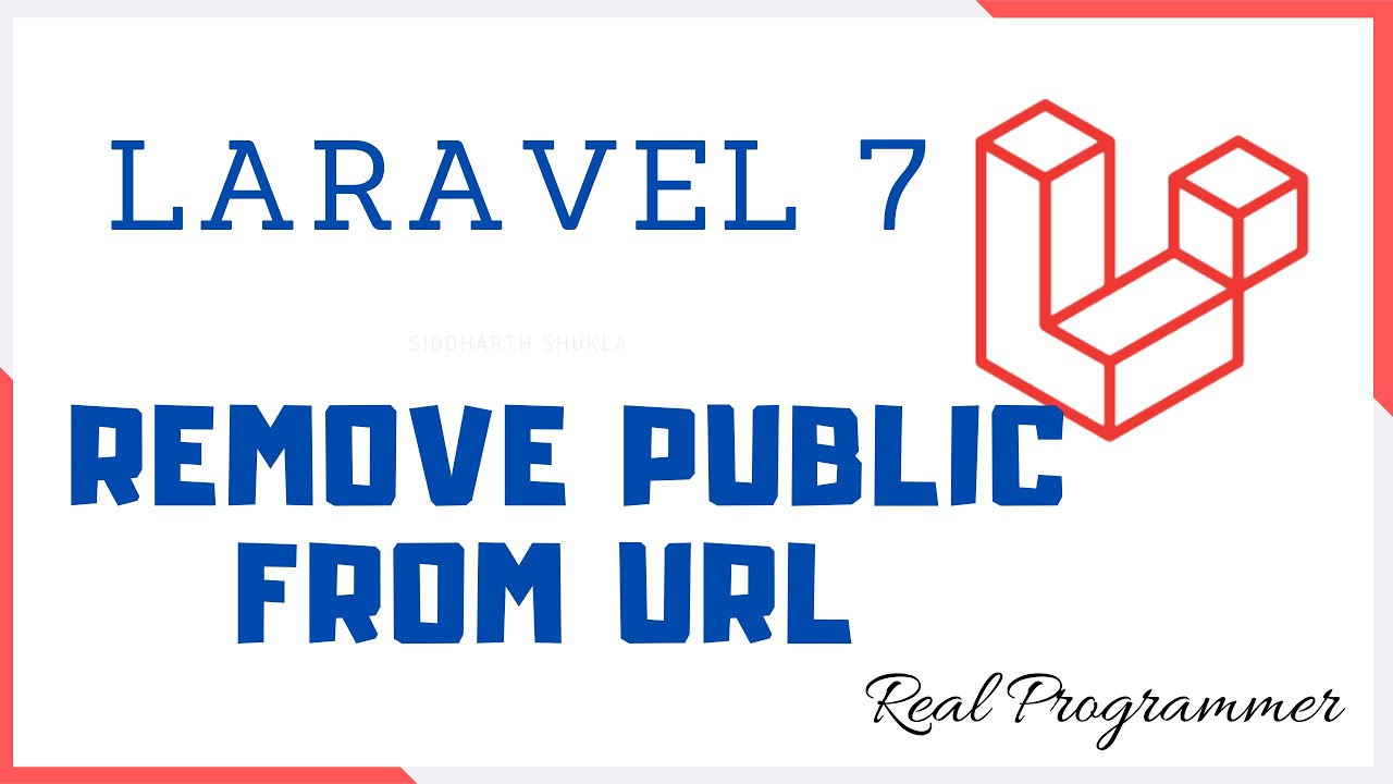 Laravel 7 Remove Public From Url Youtube