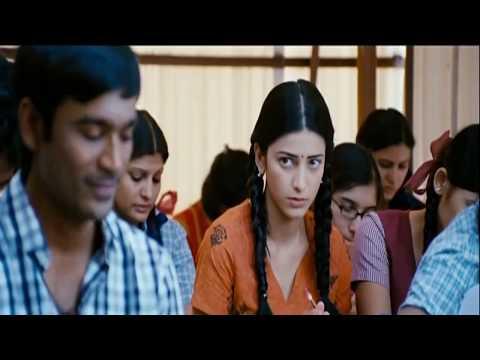 3 Movie Songs Una Pethavan Una Pethana Senjana/  CAST  : Dhanush / Music : Anirudh