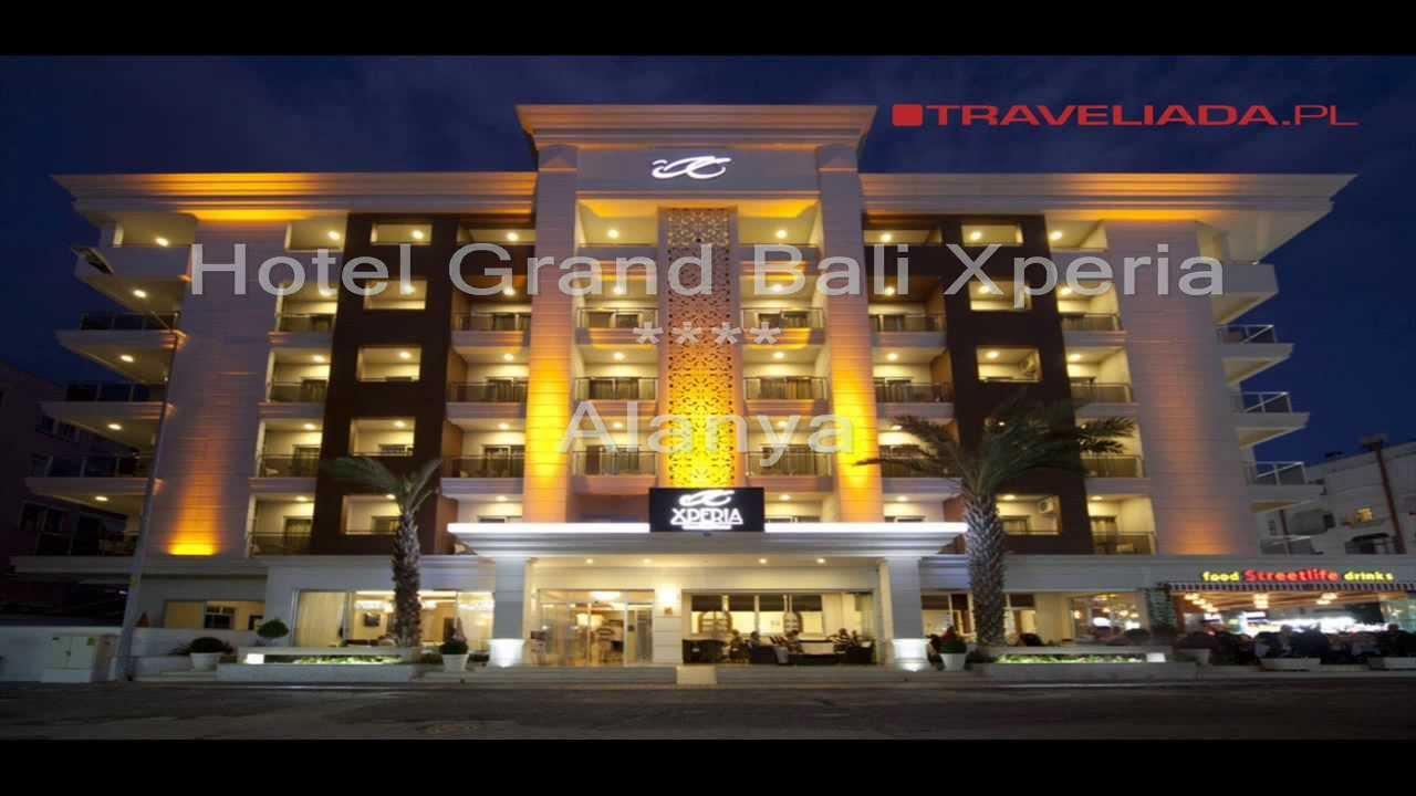 Hotel Grand Bali Xperia - Alanya - YouTube