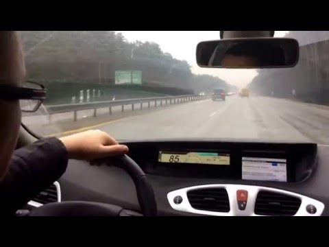 Renault Scenik 1.5 dci test Рено Сценик 1.5 дизель обзор