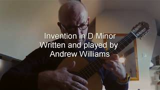 Invention in D minor
