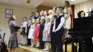 Младший хор, Детская школа искусств им. Балакирева, Ярославль 2016
