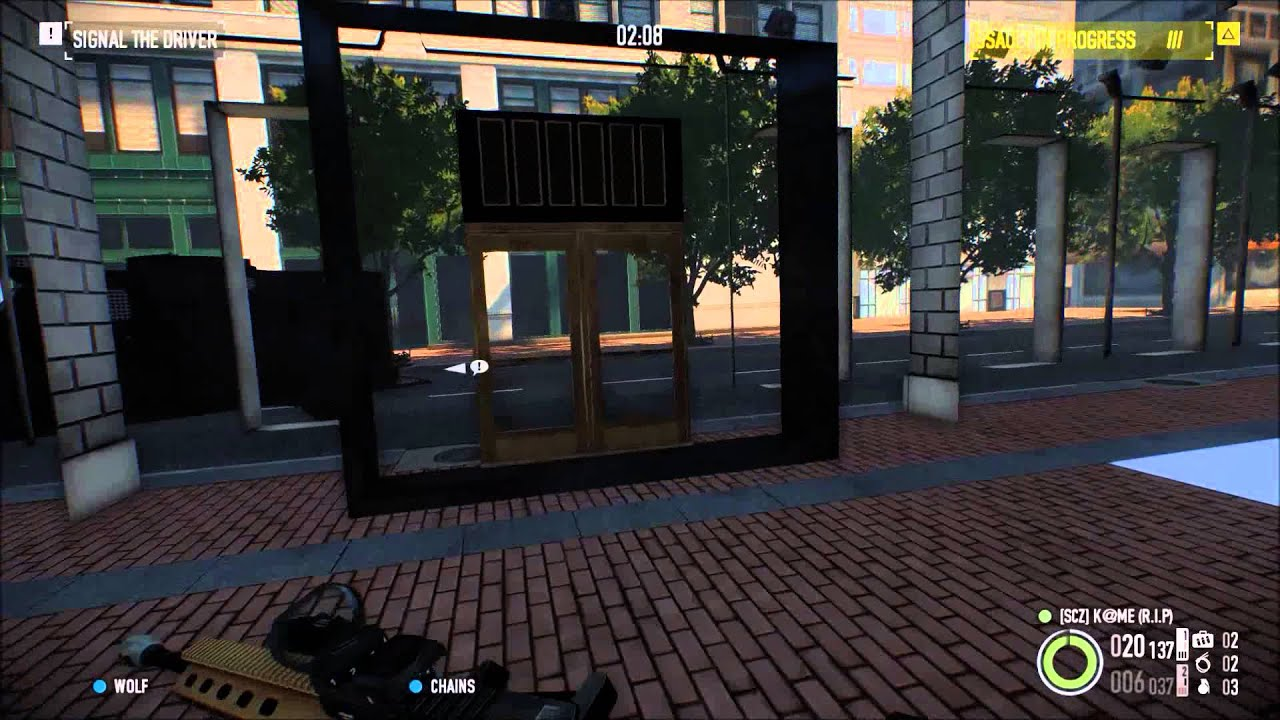 Payday 2 Hoxton Breakout Glitch Day 1 Youtube