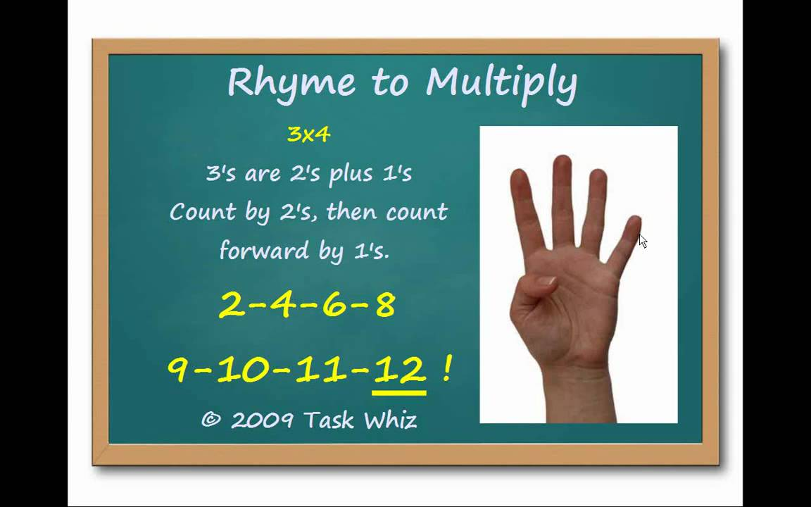 3s finger multiplication rhymes learn to multiply by 3 youtube gamestrikefo Gallery