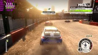 Colin McRae Dirt 2 PC Benchmark - Intel Celeron G1620 HD Graphics Dual Channel OC [ทดสอบ][DX11][HD]
