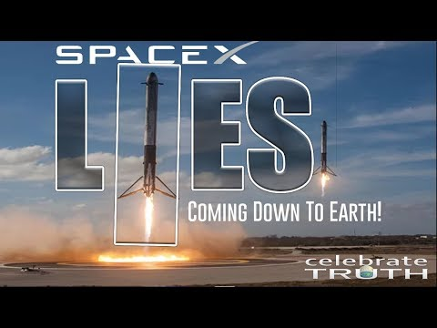 The TRUTH about SpaceX Falcon Heavy LIES Coming Down to Earth