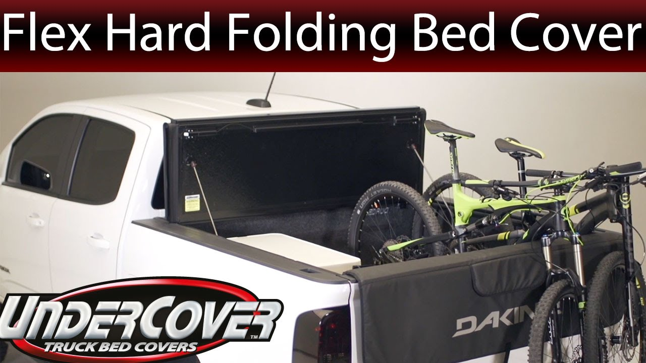 UnderCover Flex l Hard TriFolding Bed Cover Overview  YouTube