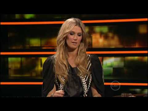 Delta Goodrem interview on ROVE (2009)