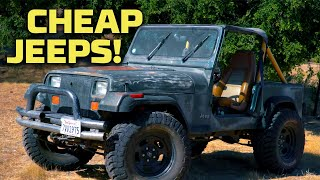 Cheapest Jeep Builds! | Dirt Every Day | MotorTrend