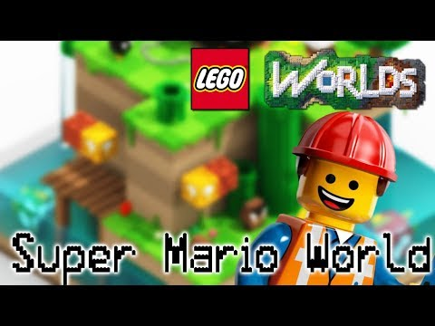 Building Ivory City: Let's Build A Super Mario World District In Our LEGO City Bricksburg