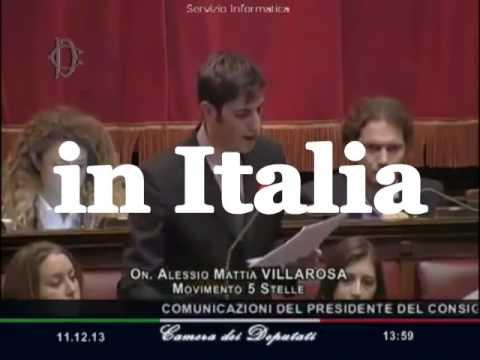 Discorso Camera Villarosa : Discorso conte sallusti lungo noioso e banale